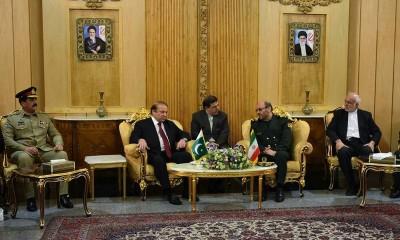Nawaz Sharif talks with Iranian Defence Minister