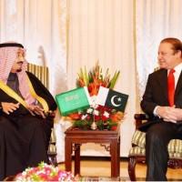 Nawaz and Salman Bin Abdulaziz
