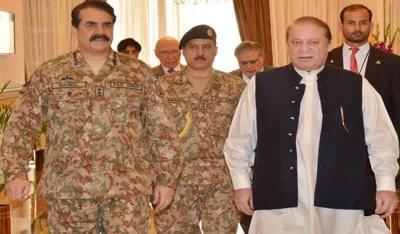 PM Nawaz , Army Chief