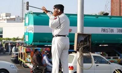Pakistan Karachi traffic