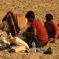 People in-Thar Desert