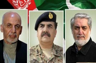 Raheel Sharif and Ashraf Ghani