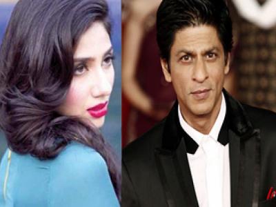Shah Rukh and Mahira Khan