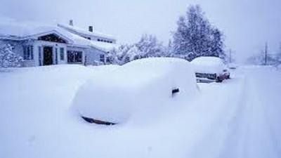 Snowfall in America