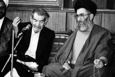 Sheheryar e Tabrezi with Seyyed Khamenei