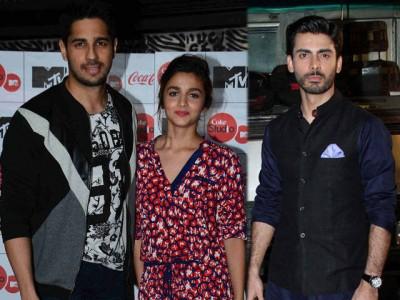 Alia, Sidharth and Fawad