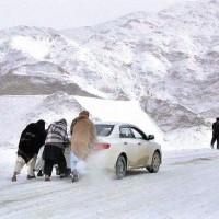 Azad Kashmir Snow