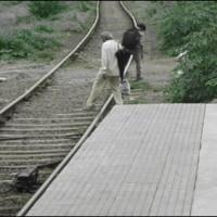 Badin Train Track