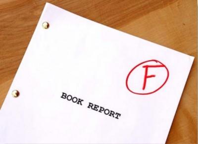 Book Report Fail