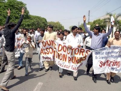 Doctors Protest