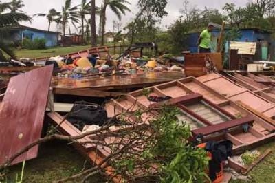 Fiji Sea Storm