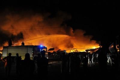Fruit Market Fire