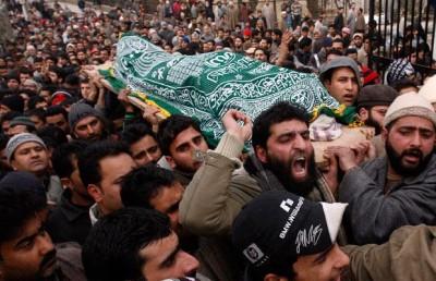 Indian Forces killing in Kashmir