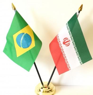 Iran and Brazil