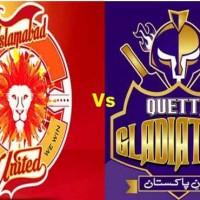 Islamabad United and Quetta Gladiators