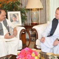 Nawaz Sharif and Mamnoon Hussain