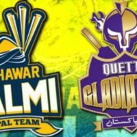 Peshawar Zalmi vs Quetta Gladiators