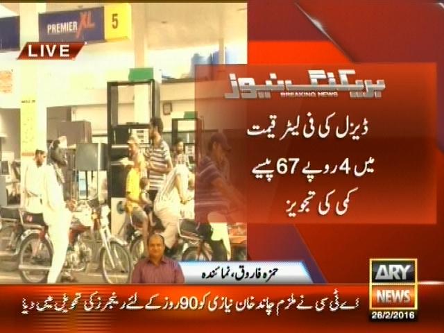 Petrol– Breaking News – Geo