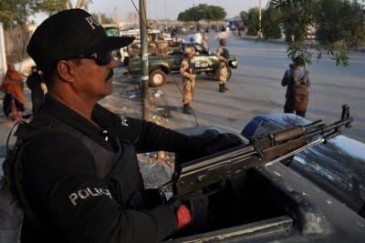 Police in Karachi