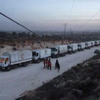 Relief Supplies Truck
