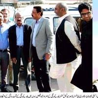 Shah Faisal Zone Visit