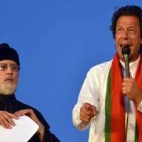 Tahir ul Qadri and Imran Khan