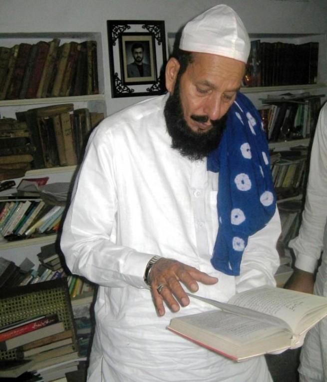 Pir Khezr Hussaen Chishti at KandhanWala Shareef