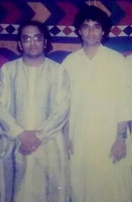 Allama Irfan Haedar Abdi with Nadeem Raza Sarwar