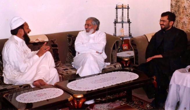 Pir Khezr Hussaen Chishti, Pir Zawwar Hussaen Shah & Makhdoom Ali Abbas