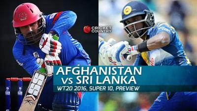 Afghanistan vs Sri Lanka