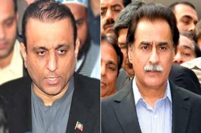 Alim Khan and Ayaz Sadiq