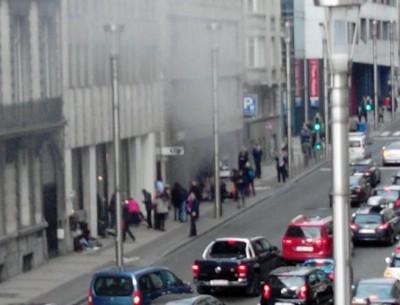 Blast in Brussels