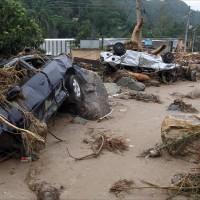 Brazil Rain Destruction