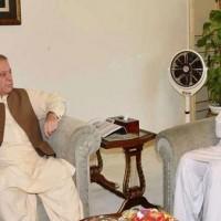 Chaudhry Nisar Ali Khan and Nawaz Sharif