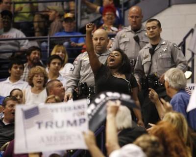 Donald Trump Against Protests