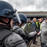 France Refugee Camp Conflict