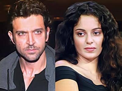 Hritick Roshan and Kangana Ranawat