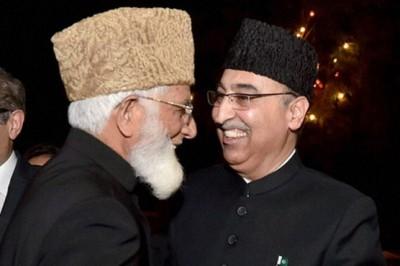Hurriyat leaders meet Pakistani High Commissioner