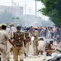 Jammu and Kashmir Demonstrators
