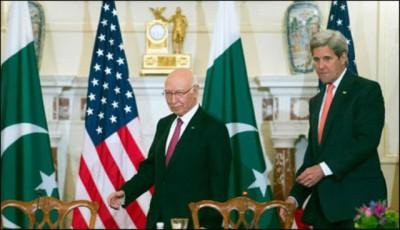 John Kerry Sartaj Aziz