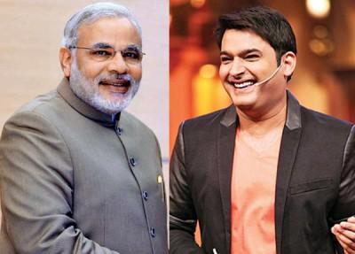 Kapil Sharma and Narendra Modi