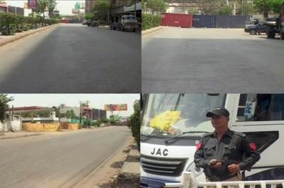 Karachi Strike