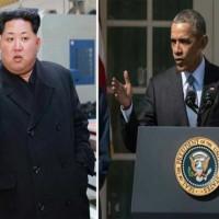 Kim Jong and Obama