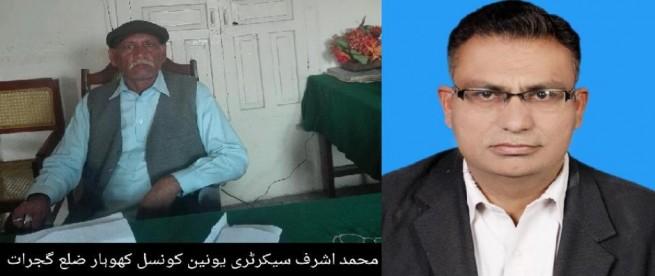 Mohammad Ashraf andDr Tasawar Hussain Mirza