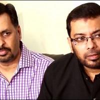 Mustafa Kamal and Dr Sagheer