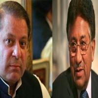 Nawaz Sharif and Pervez Musharraf