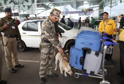 New Delhi Airport, High Alert
