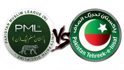 PML N vs PTI