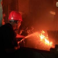 Paint Factory Fire