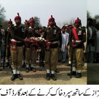 Pak Army Solder Buried